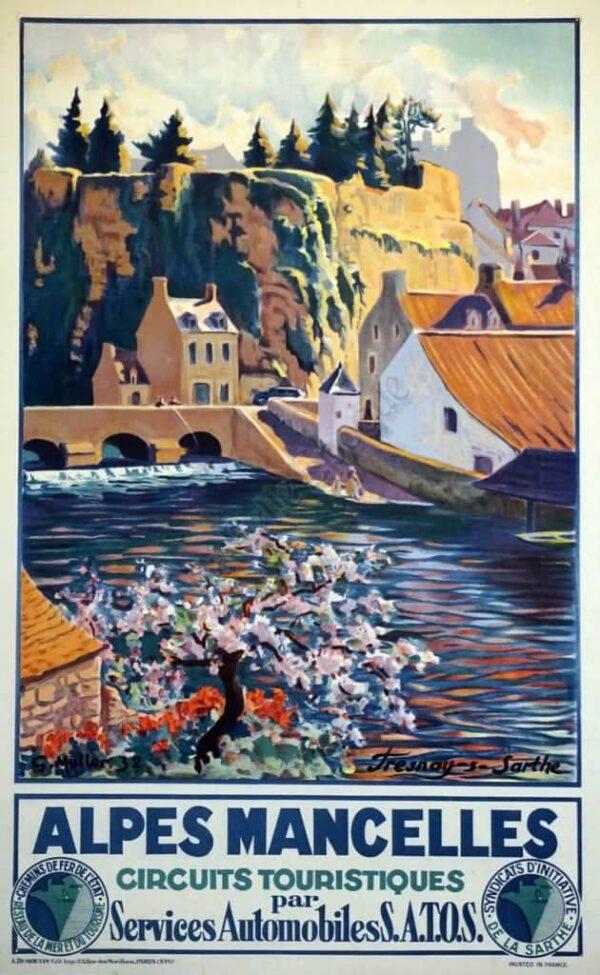 Alpes Mancelles Vintage Posters
