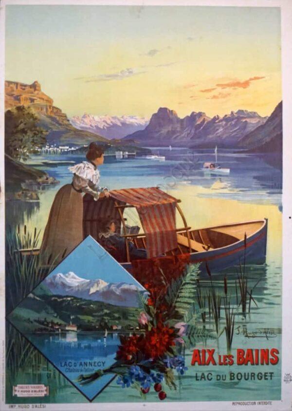 Aix Les Bains PLM Vintage Posters