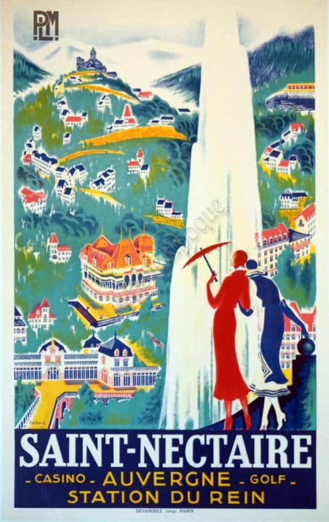 Saint Nectaire Vintage Posters