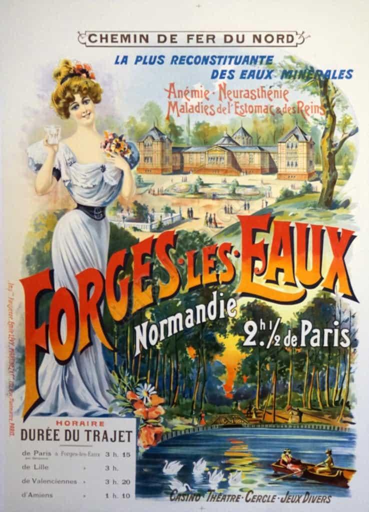 Forges Les Eaux Vintage Posters