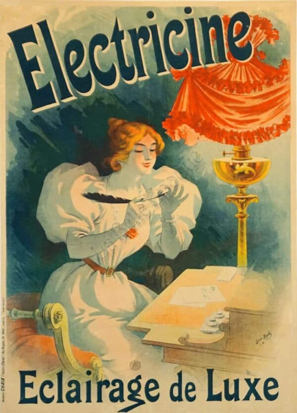 Electicine Eclairage de Luxe Vintage Posters