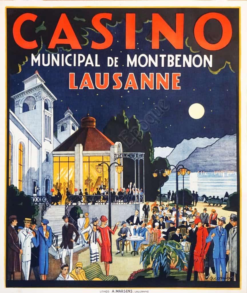 Casino Municipal de Montbenon Lausanne