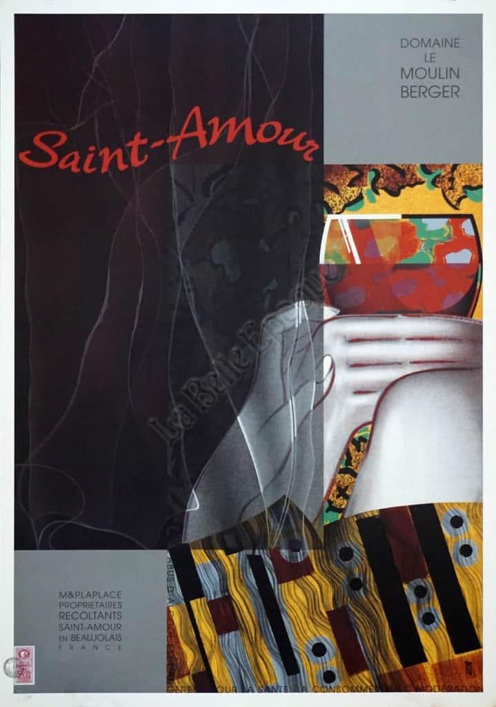 Saint-Amour Vintage Posters