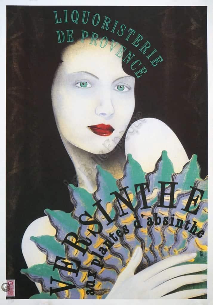 Versinthe Somm Vintage Posters