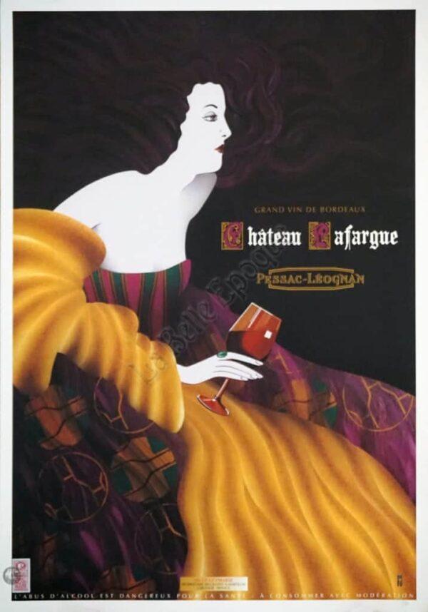 Chateau Lafargue Vintage Posters