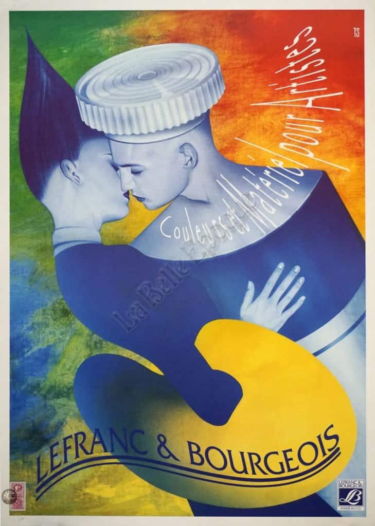 Lefranc & Bourgeios Vintage Posters