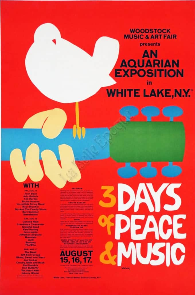 Woodstock 3 Days of Peace & Music