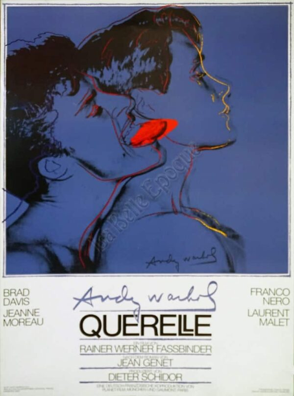 Andy Warhol Querelle Vintage Posters
