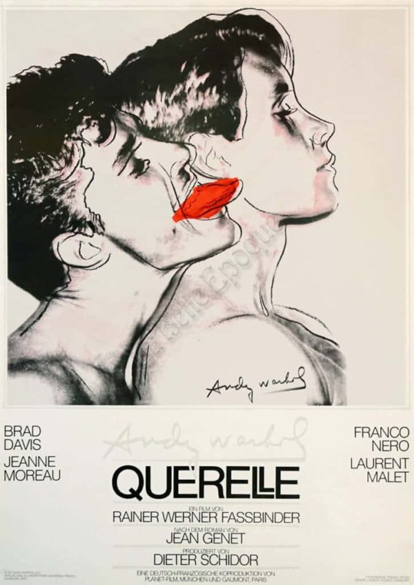 Querelle White Vintage Posters