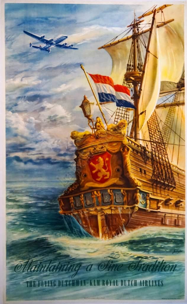 The Flying Dutchman Airlines Poster