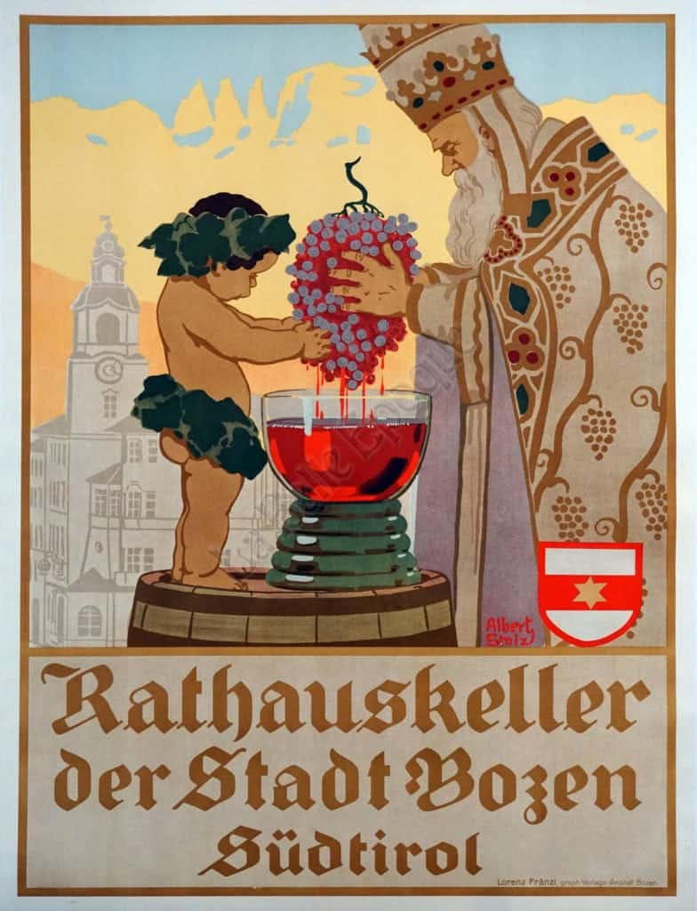 rathauskeller der stadt bozen sudtirol
