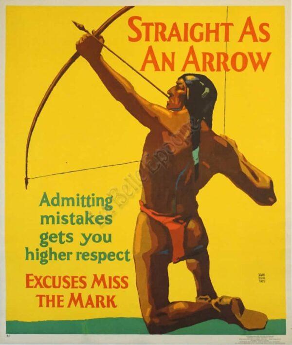 Straight As An Arrow