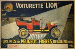 Voiturette Lion