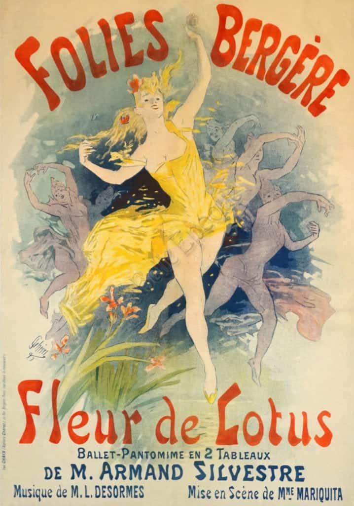 Folies Bergere Fleur de Lotus