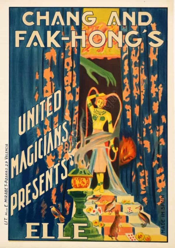 Chang and Fak-Hong's Vintage Posters