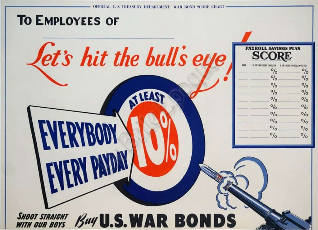 Let's hit the bull's eye! Vintage Posters