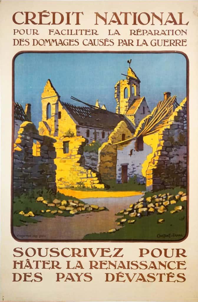 Credit National Souscrivez Pour Vintage Posters