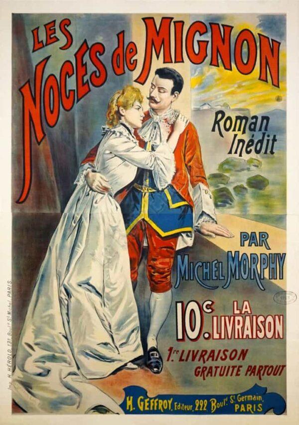 Les Noces de Mignon Vintage Posters