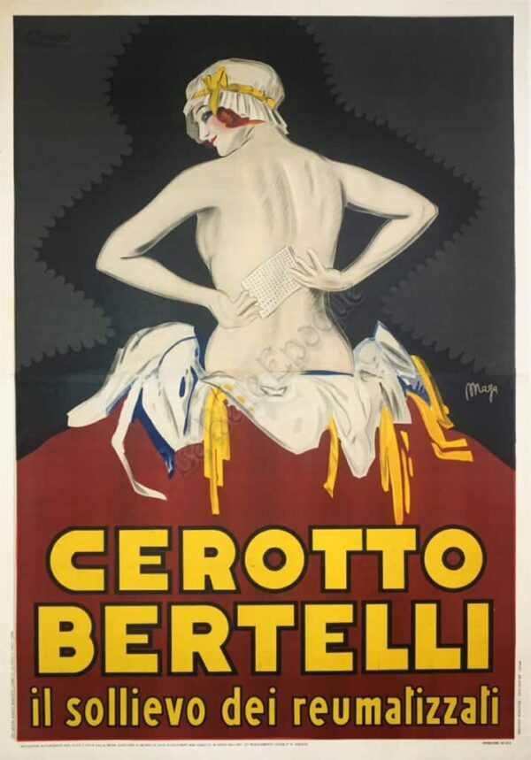 Cerotto Bertelli Vintage Posters