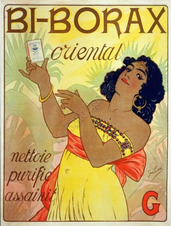 Bi-Borax Oriental Vintage Posters