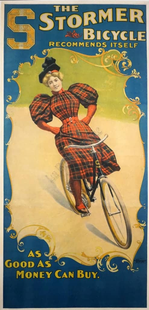 The Stormer Bicycle Vintage Posters