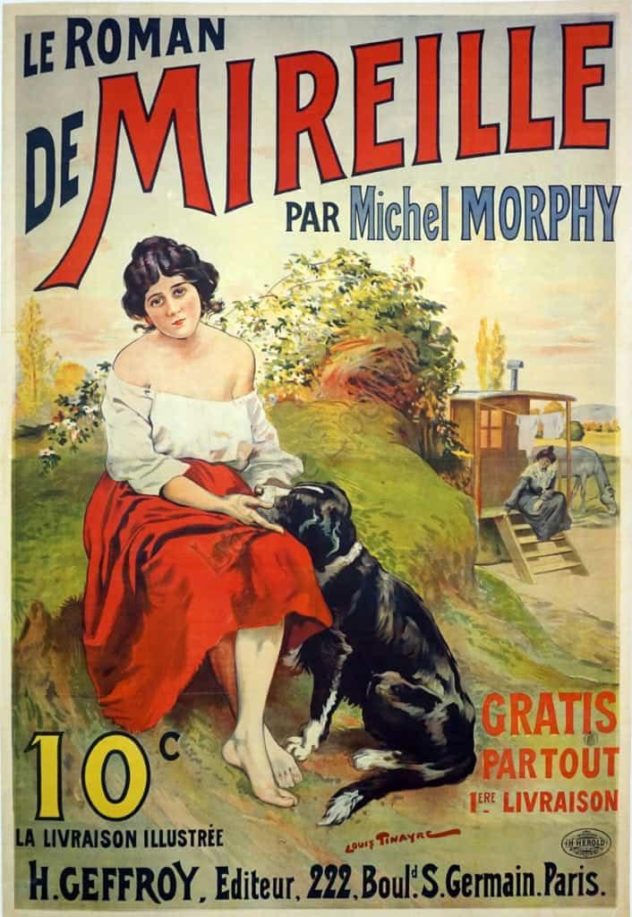 De Mireille par Michel Morphy Vintage Posters