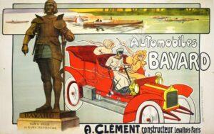 Automobiles Bayard Vintage Posters