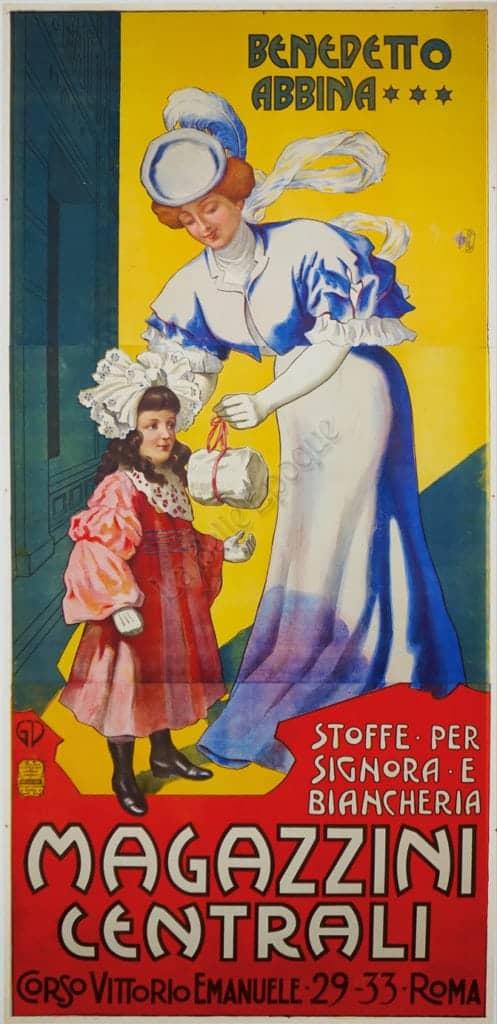 Magazzini Centrali Vintage Posters