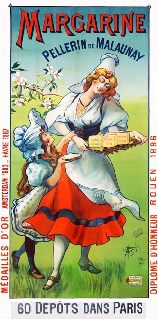 Margarine Pellerin de Malaunay Vintage Posters