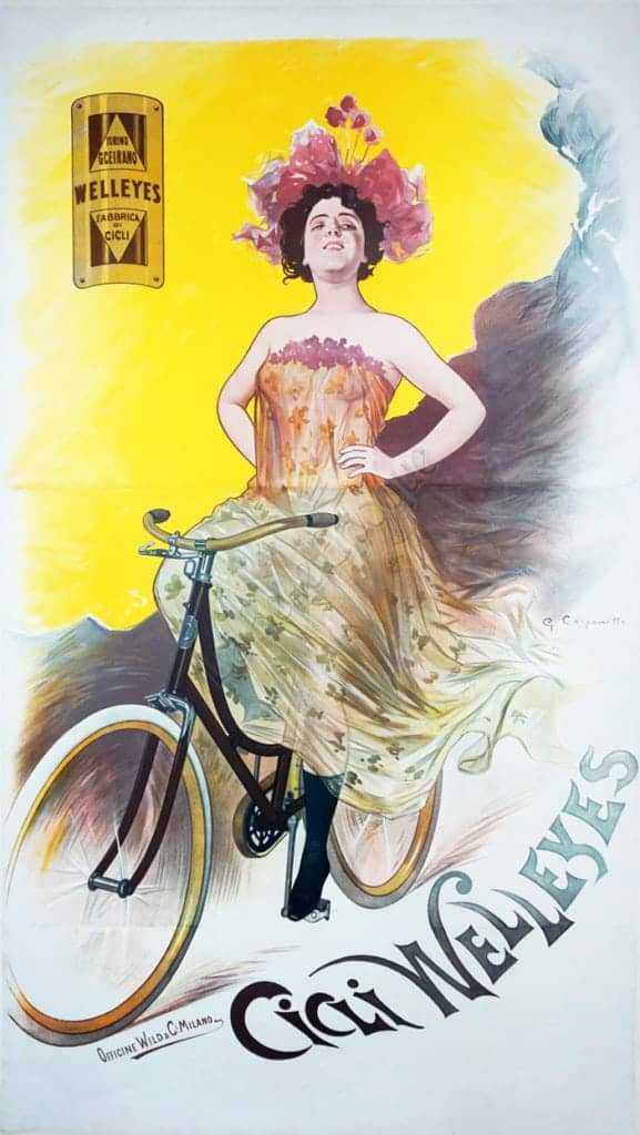 Cicli Welleyes Vintage Posters
