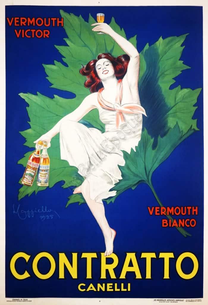 Contatto Canelli Vintage Posters