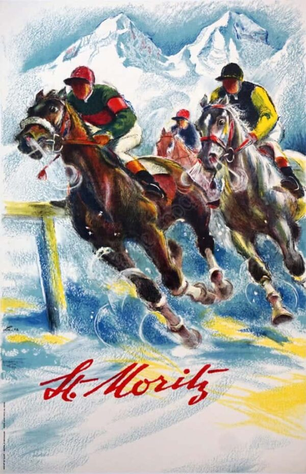 St. Moritz Vintage Posters