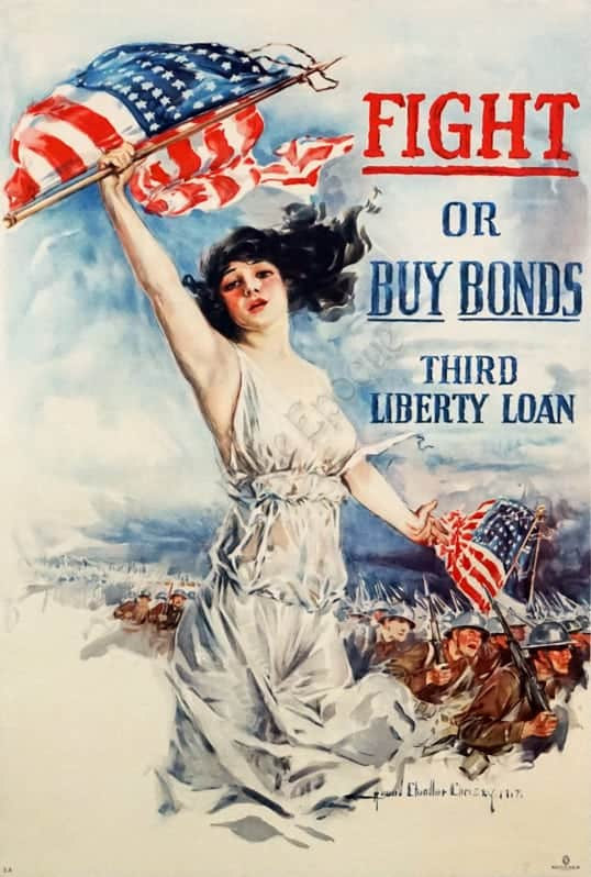 Fight or Buy Bonds Vintage Posters
