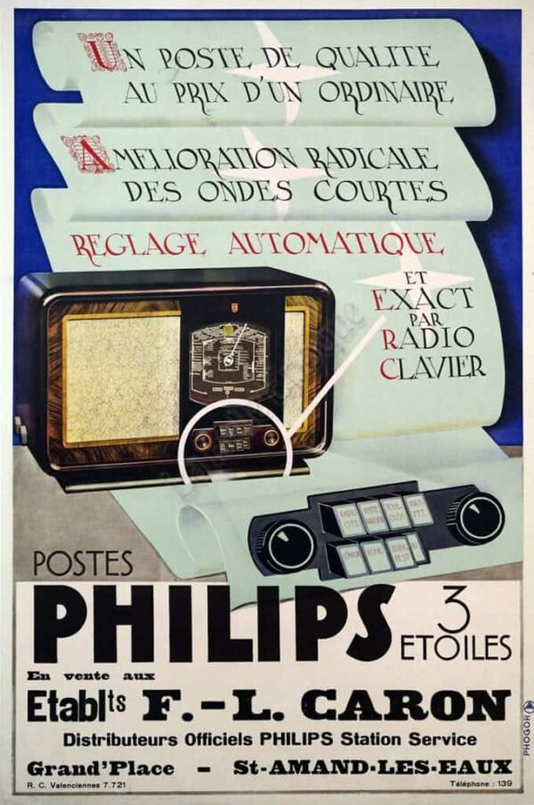 Philips 3 Etoiles Vintage Posters