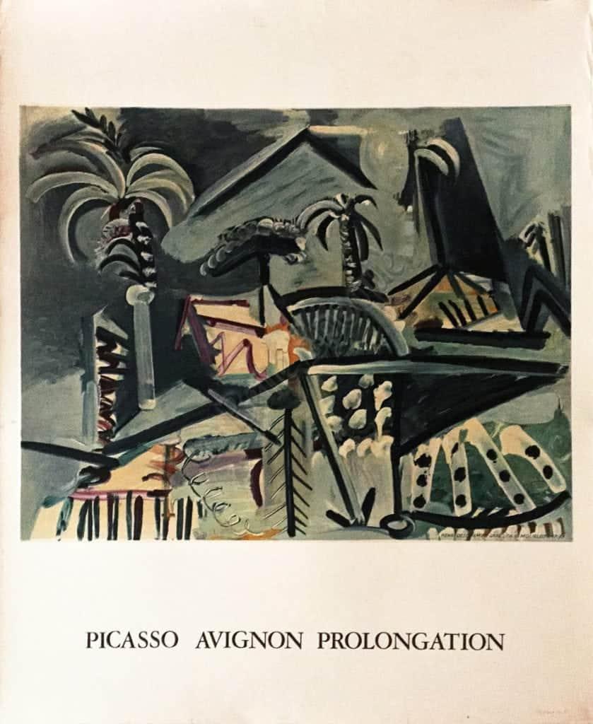 Picasso Avignon Prolongation Vintage Posters
