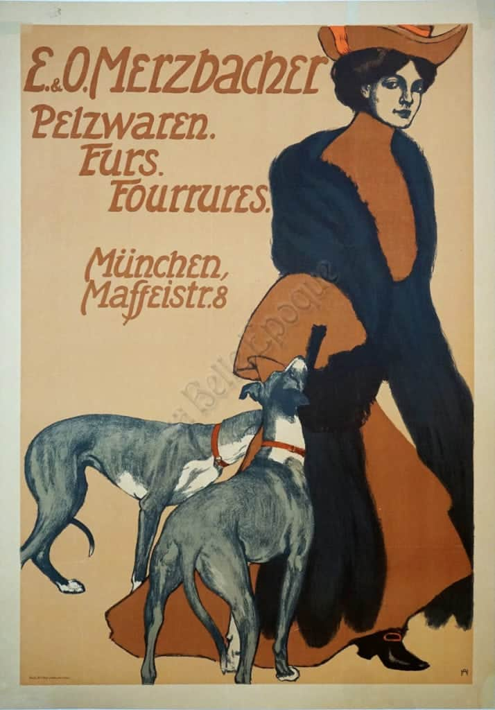 E&O Merzbacher Vintage Posters