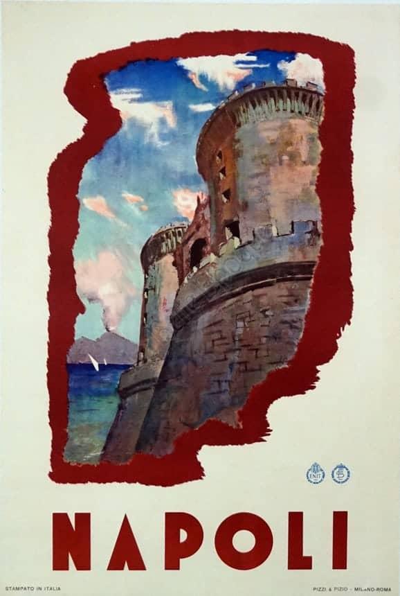 Napoli Vintage Posters
