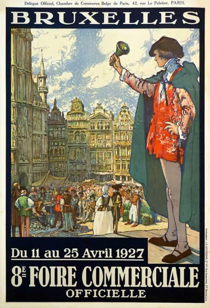 Bruxelles Vintage Posters