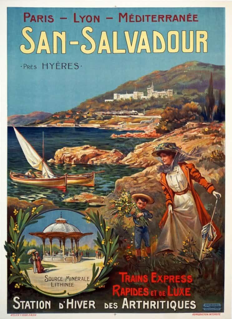 San-Salvadour Vintage Posters