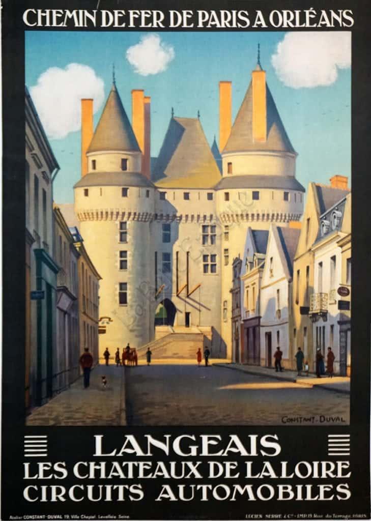 Langeais Vintage Posters