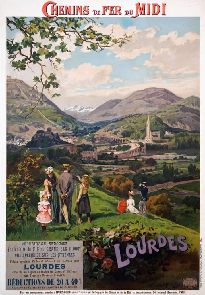Chemins de Fer du Midi Vintage Posters