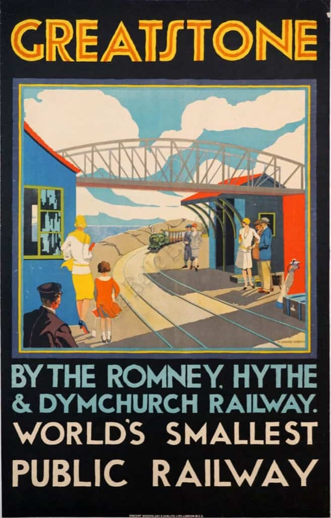 Greatstone World's Smallest Public Railway Vintage Posters