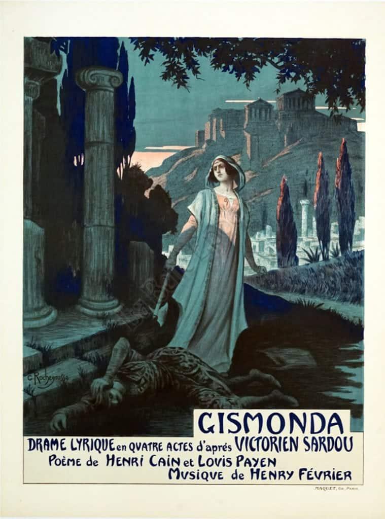 Gismonda Vintage Posters