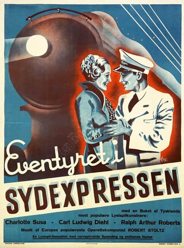 Eventyreti Sydexpressen Vintage Posters