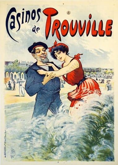 Casinos de Trouville Vintage Posters