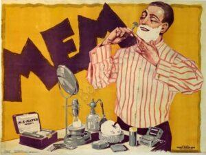 Mem Shaving Cream Vintage Posters