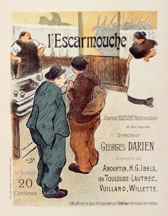 Maitre Vintage Poster