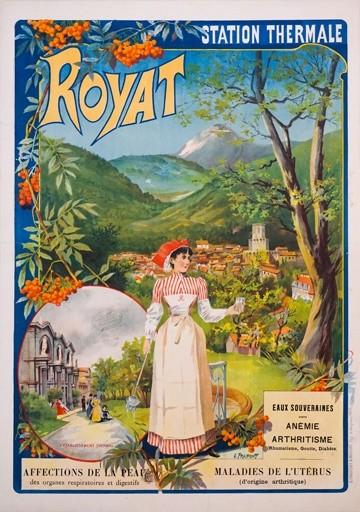 Royat Vintage Poster