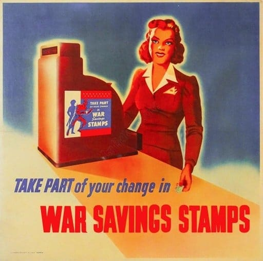 War Savings Stamps