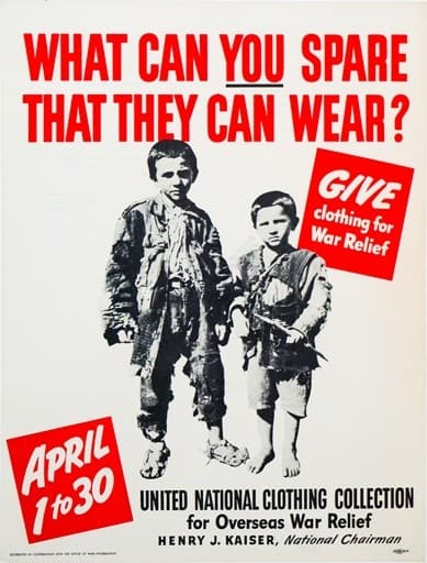 What Can You Spare That They Can Wear?